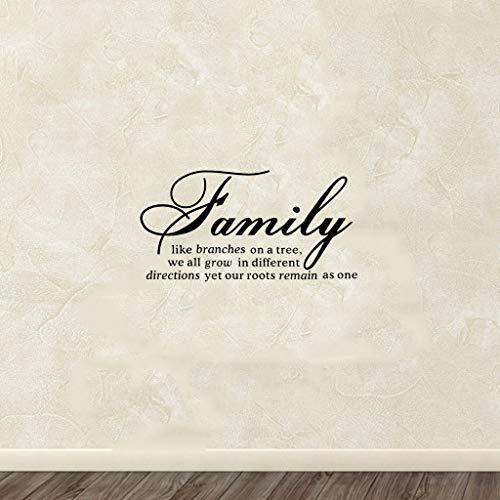 Familia como rama para sala de estar dormitorio