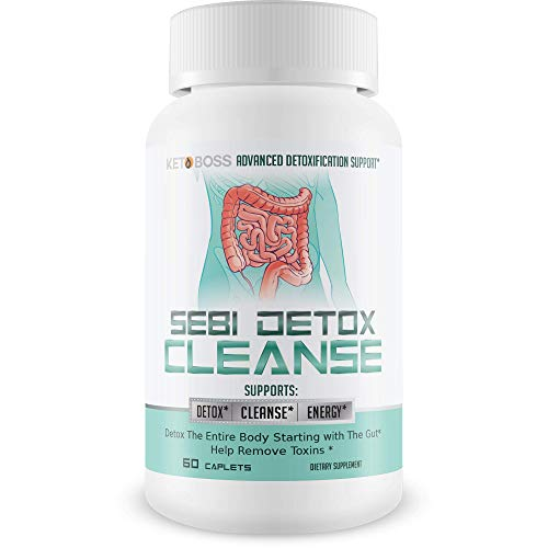 Sebi Detox Cleanse - Advanced Detoxification Support - Detox The Entire Body Starting with The Gut - Help Remove Toxins - Inspired by dr sebi Products - Detox Cleanse Weight Loss - Keto Detox Cleanse