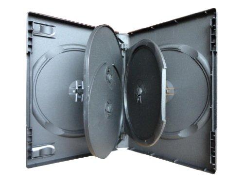 3x 5fach 5er DVD CD Box Hülle black