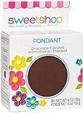 Sweetshop Fondant 4oz-Chocolate