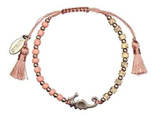 Hultquist HQ1148RG Armband Seepferdchen Rosegold Rose mit Quaste