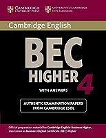 Cambridge Bec 4 Higher (BEC Practice Tests)