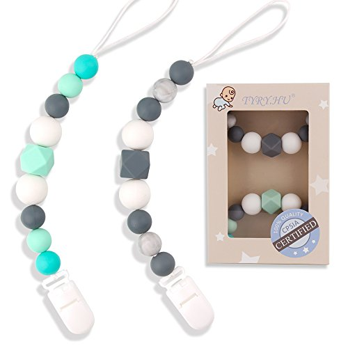 TYRY.HU Pacifier Clips Silicone