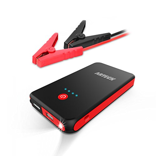 Find Bargain Arteck Car Jump Starter Auto Battery Charger and 8000mAh External Battery Charger Car J...