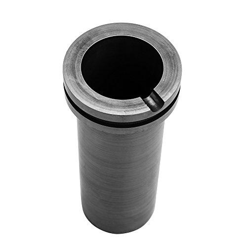 Crisol de grafito fundido de alta pureza para herramientas de fundición de metal dorado y plateado de alta temperatura