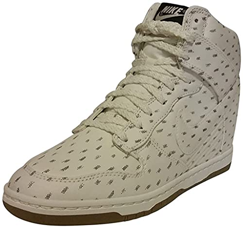 Nike Wmns Air Force 1 '07 Le, Scarpe da Basket Donna, Multicolore (Black/True Berry/White 042), 42 EU