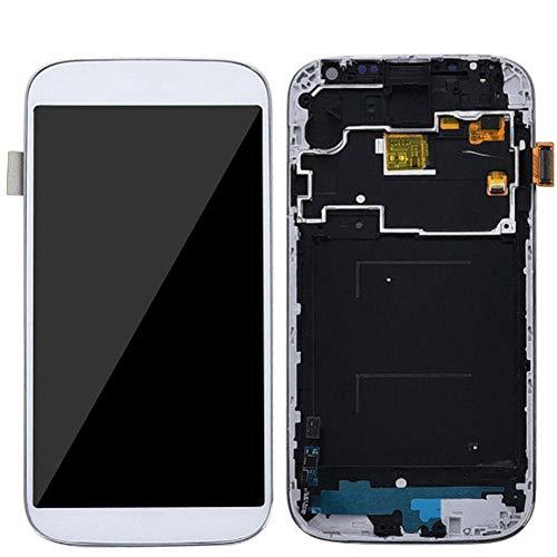 Haodene Pantalla LCD para Samsung Galaxy S4 I9505 - Pantalla LCD Táctil, Pantalla Digital, Negro/Blanco
