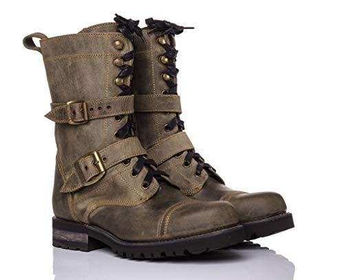 Sendra Boots Bota Militar de cordones 15680 MILLES FLOTA/BUTERO (38 EU, FLOTA MILITAR)
