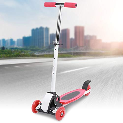 SHYEKYO Kid Scooter Scooter Ajustable Advanced Children Scooter Durable, para niños