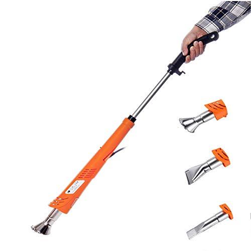 Homeatk Electric Weed Burner, 2000W Handheld Safe Weeding Killer with 3 Heat Set, Detachable Garden Remover Weeder Thermal Stick 60-650℃