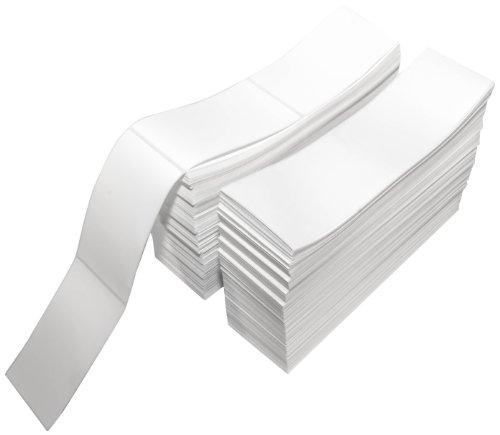 Compulabel 熱転写 配送用ラベル 3インチ x 5インチ ホワイト 扇風機 永久粘着 ラベル間のミシン目 1段につき2300個 カートンあたり2段