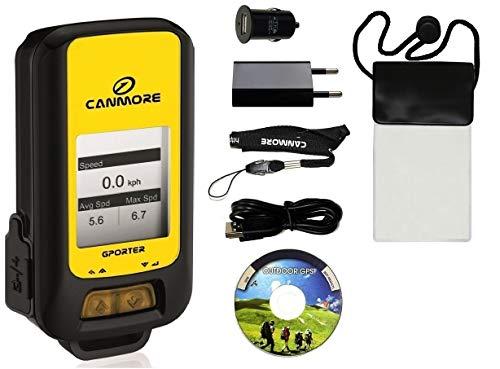 GPORTER GP-102+ Outdoor GPS Gerät - XXL Set, gelb