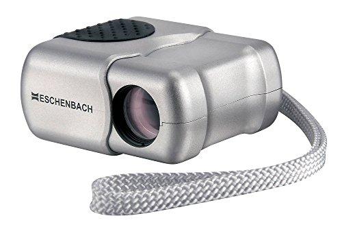 Eschenbach Optik Monokular microlux 4x13, zusammenklappbar, klein, handlich, silber