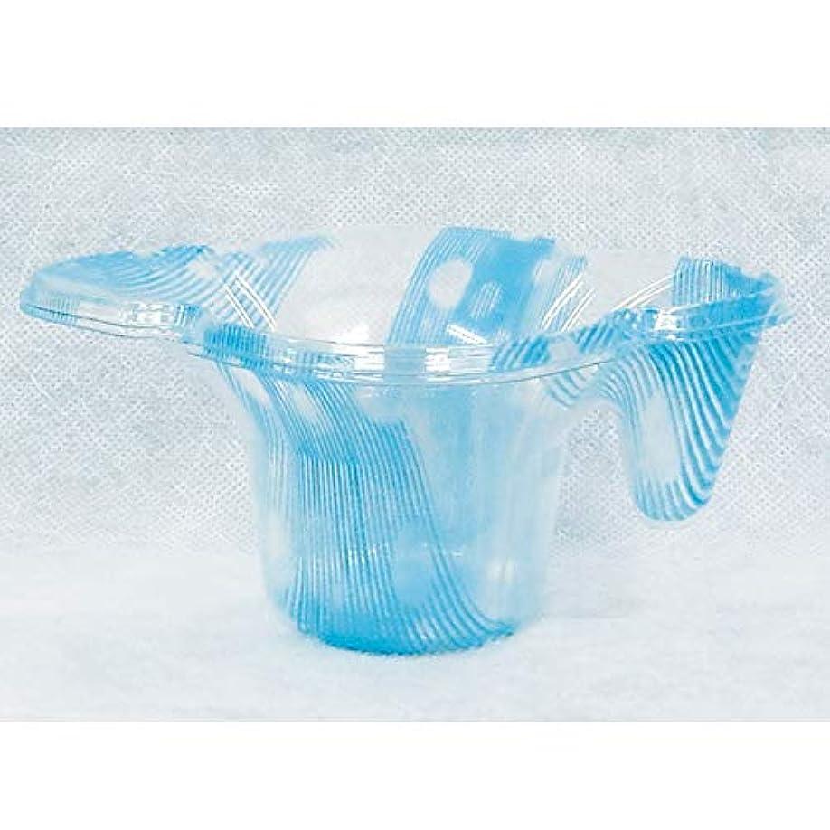 星パネルおしゃれじゃない業務用かき氷用プラカップ パンジーカップ クリスタル ブルー(1200個入り) (メーカー直送)