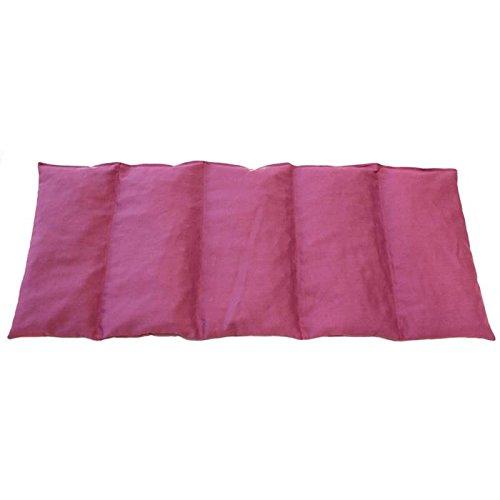 Kirschkernkissen 50x20cm LILA ; Wärme + Kältetherapie ; Körnerkissen