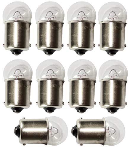 AERZETIX: 10x Bombillas 12V 10W R10W BA15S C4731
