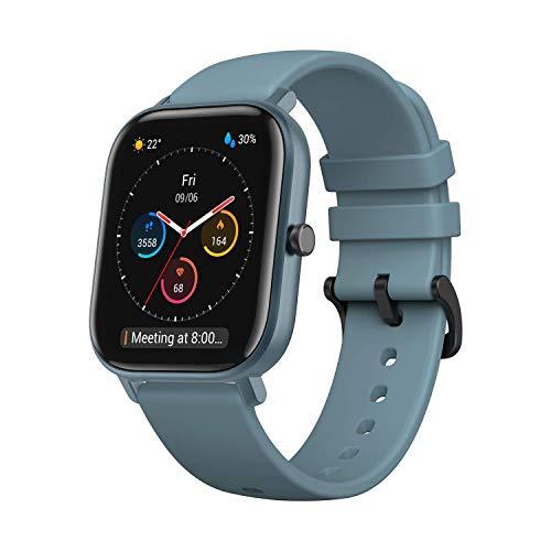 """Amazfit Smartwatch GTS mit 12 Sportmodi, GPS 1.65"""" AMOLED Display Fitness Tracker, Outdoor Sportuhr, Schrittzähler, Herzfrequenzüberwachung"""