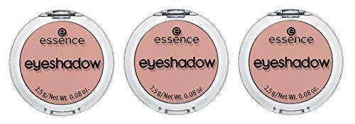 essence eyeshadow, Lidschatten, Nr. 14 Flirting, nude, matt, farbintensiv, intensiv, vegan, Nanopartikel frei, entspricht unserem CLEAN BEAUTY Standard, 3er Pack (3 x 2,5g)