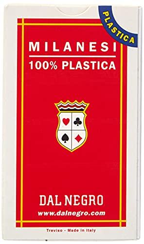 Dal Negro 4135 Carte Regionali Italiane Milanesi N.41 Plastica 015009, Multicolore, 9 x 5 x 1.9