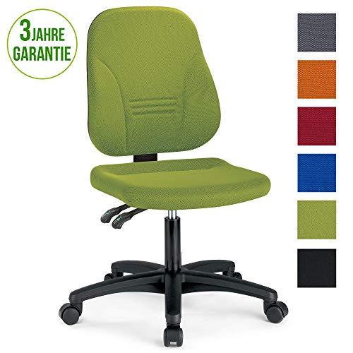 prosedia® Younico Plus 3 – Top Bürostuhl/Schreibtischstuhl – sehr ergonomisch - Made in Germany - TÜV Rheinland geprüft und Zertifiziert (Ohne Armlehnen, Grün)