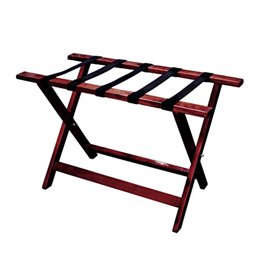 Lowest Price! Luggage Racks Foldable Luggage Rack Suitcase Stand, Wood Hotel Supplies|Placement Rack...