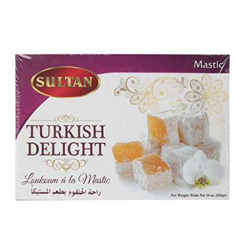 Sultan Turkish Delight Mastic 16oz