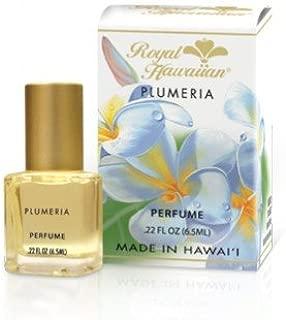 Hawaiian Plumeria Perfume 0.22oz By Royal Hawaiian (New Size & Packaging)