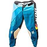 Kini Red Bull MX Vintage - Pantalón deportivo, color azul y