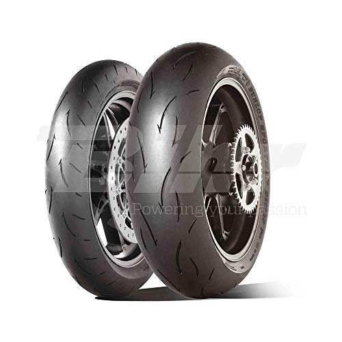 DUNLOP 190/55 ZR17 75W GP RACER D212 M TL -55/55/R17 75W - A/A/70dB - Moto Pneu