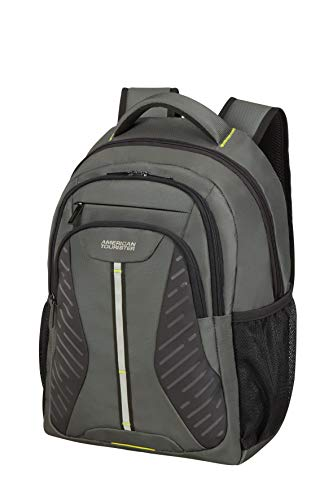 American Tourister At Work - 15.6 Pollici Zaino Porta PC, 45 cm, 25 L, Grigio (Shadow Grey)