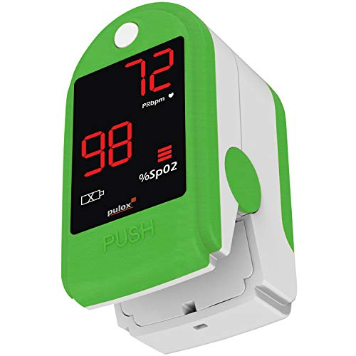 Pulsoximeter PULOX PO-100 Solo in grün