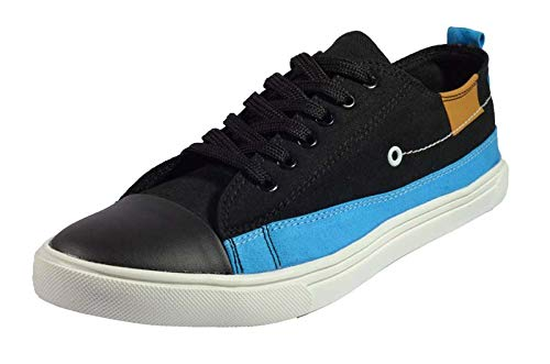 vinny traders Gualo Men's Canvas Stylish Sneakers Shoes Blue