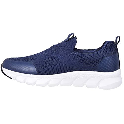 Zapatillas Deportivas Mujer Zapatos Deporte Gimnasio Cómodos Zapatillas de Running Ligero Fitness Zapatos de Trabajo Zapatillas Casual Sneakers Azul D 40EU