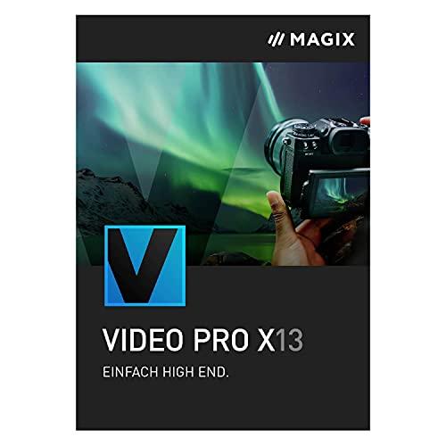 MAGIX Video Pro X   Version 13   Videobearbeitung – intuitiv und professionell