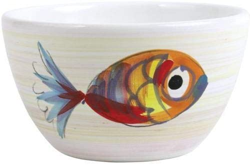 Vietri Pesci Colorati Cereal quality Free shipping on posting reviews assurance Bowl