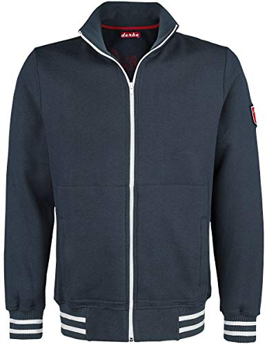 derbe Hamburg Back to The Roots Trainingsjacke Navy XXL
