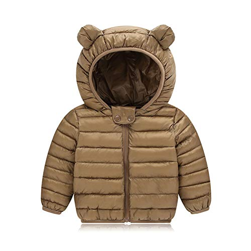New Baby Winter Coats Down Cotton Coat Jacket Kids Baby Clothes Hooded Infant Down Jacket Yz01004 24M