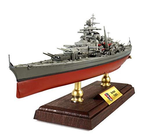 X-Toy 1/700 Maßstab Militärplastikmodell, Schlachtschiff Tirpitz Battleship Deutsche Marine Modell, Erwachsene Collectibles Und Geschenke, 14.2 X 2.4Inch