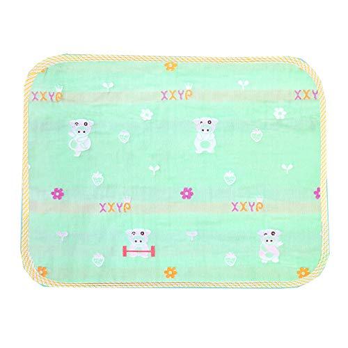 GESS Huishoudelijke eco-vriendelijke waterdichte matras, baby ademende anti-urine pad, wasbaar fluorescerend middel
