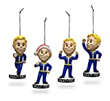 Fallout 4 Vault Boy Christmas Ornament Figure Set of 4