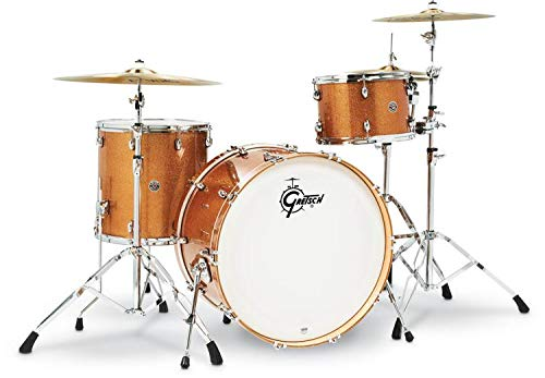 Gretsch Drums Drum Set, Bronze Sparkle (CT1-R443C-BS)