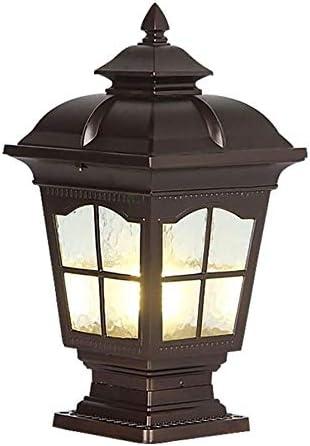 NARUJUBU Solar Post Lights Outdoor Lamp Gat Overseas parallel import regular item for New color Light
