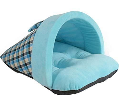 Pet Housewarm Zachte hondenmand Warme huisdierenslippers Bed Kattenbak Kattenbak Slaapzak Nest Bed