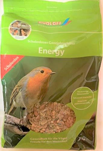 Rudloff Wildvogelfutter Energy Schalenlos, 2 kg