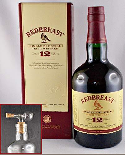 Redbreast 12 Jahre irischer Whiskey Whisky + 1 Glaskugelportionierer