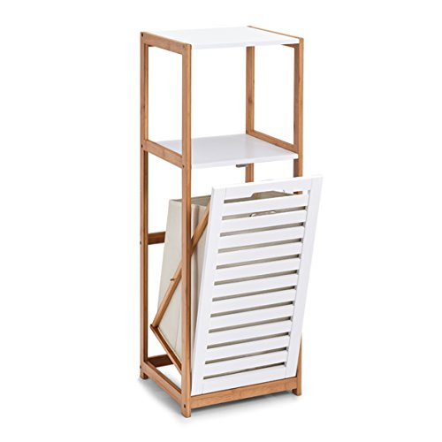 Zeller Standregal, Holz, Weiß, 36 x 33 x 98 cm