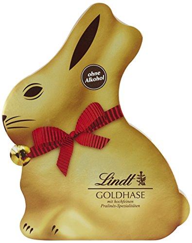 Lindt & Sprüngli Packung Goldhase, 1er Pack (1 x 150 g)