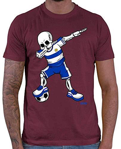 Hariz - Camiseta de fútbol para hombre, diseño de esqueleto de la Selva