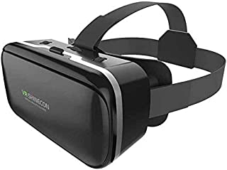 Rovtop 3D Glasses VR Box Virtual Reality Cardboard Headset Helmet for Smartphone Samsung Eyeglasses VR Devices for Games Z...