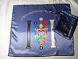 Tarot Set - Tarot Cloth or Altar Cloth Plus Matching Bag - Kabbalah Tree of Life Tarot Cloth